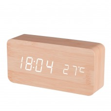 B9299 Wooden Alarm Clock