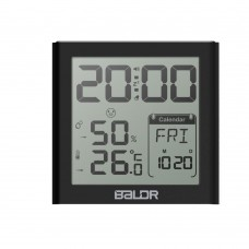 B0330STH-V2 DIGITAL CLOCK WITH THERMO-HYGROMETER